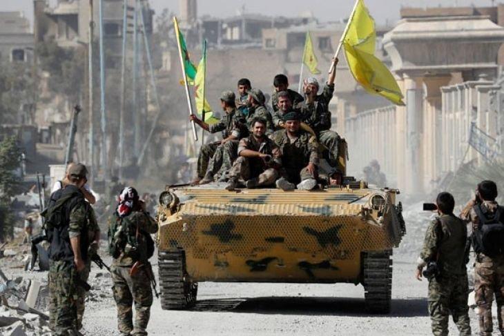 Militer Suriah rebut daerah di dekat perbatasan Irak dari ISIS