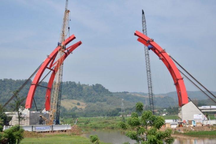 Pembangunan Jembatan Kalikuto Dikebut