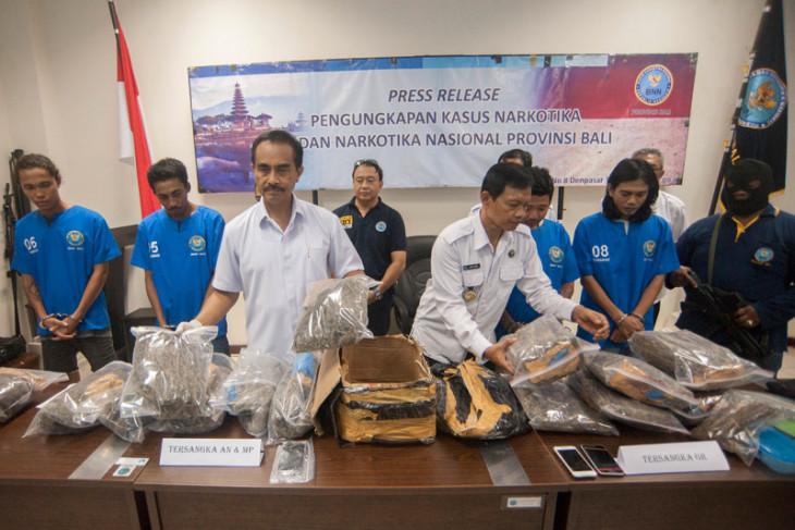 BNN arrests five hashish dealers in Bali