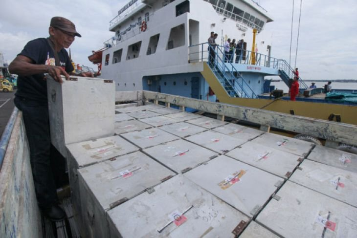 Pengiriman logistik Pilkada