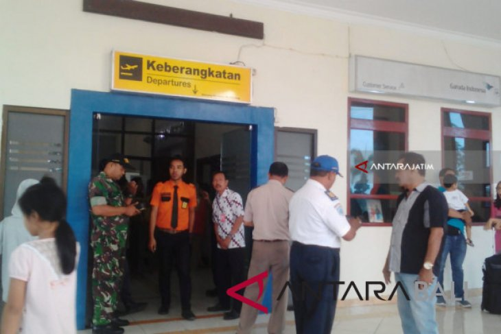 Terdampak Gunung Agung, Bandara Jember-Banyuwangi kembali ditutup