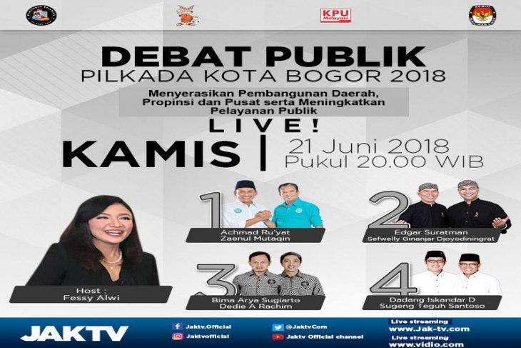 KPU Bogor gelar debat publik putaran akhir