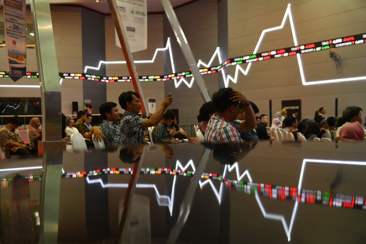 Jakarta Composite Index down on external factor