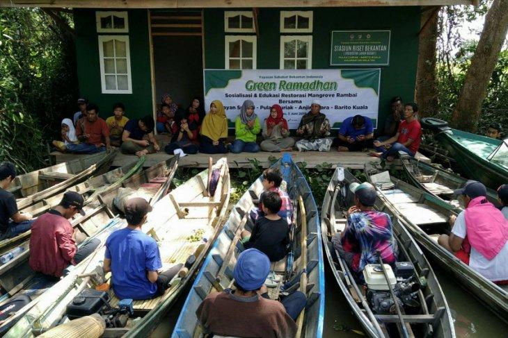SBI educates fishermen to preserve rambai mangrove