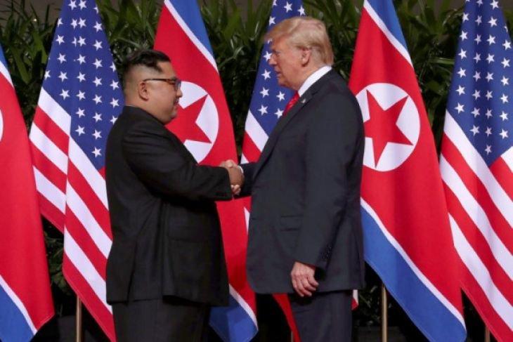 Donald Trump soal pertemuannya dengan pejabat Korea Utara