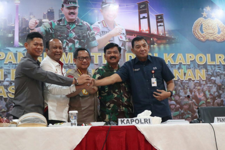 TNI, Polri anticipate possible land and forest fires during Asian Games