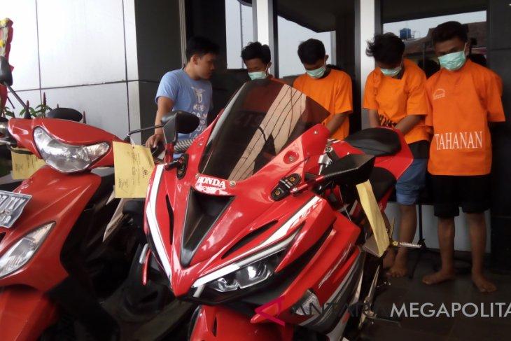 Pencurian motor dominasi kasus kriminal Bekasi selama 2018