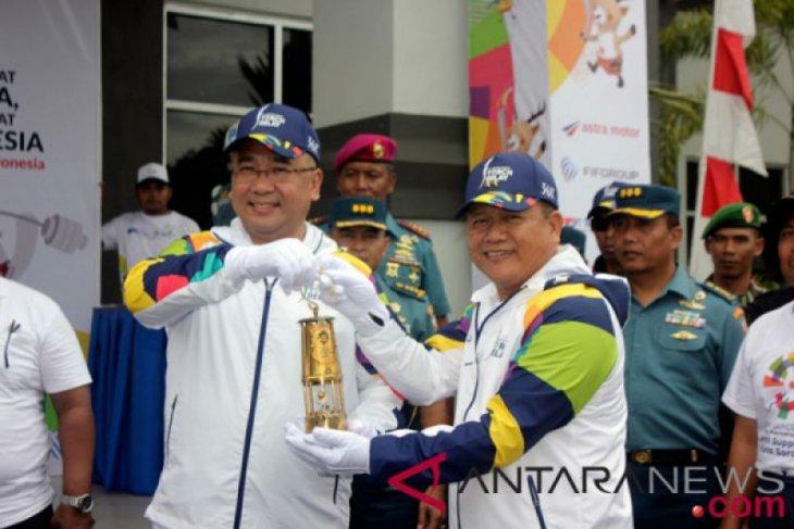 Mendes dan PDTT Arak Api Asian Games