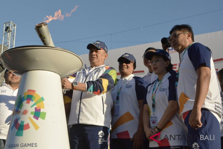 Obor Asian Games kelilingi GWK
