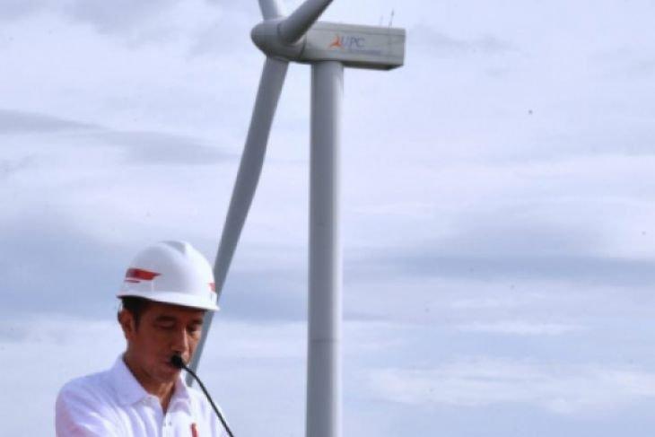 Presiden tegaskan komitmen pemerintah kembangkan pembangkit listrik berenergi terbarukan