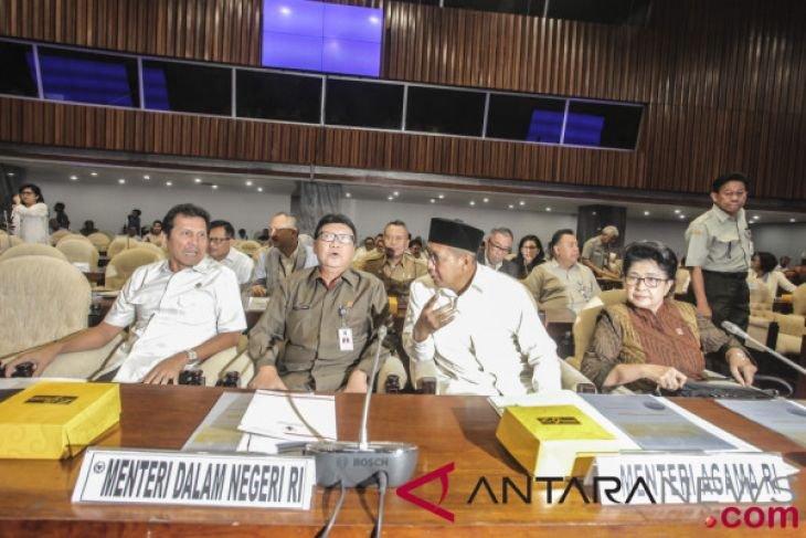 Raker Gabungan Tujuh Komisi DPR