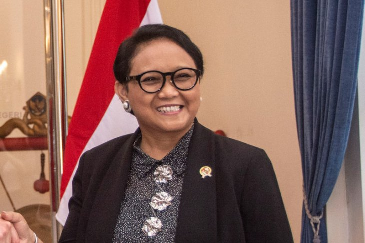Indonesian foreign minister inaugurates overseas public service buildings