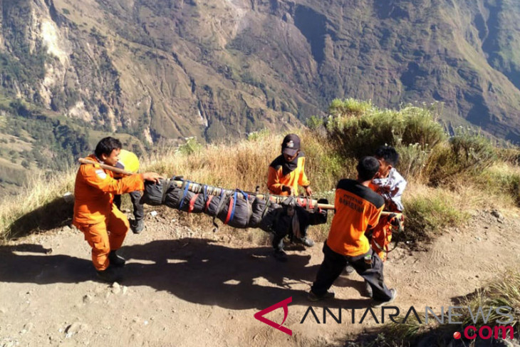 1,091 climbers evacuated from Mount Rinjani
