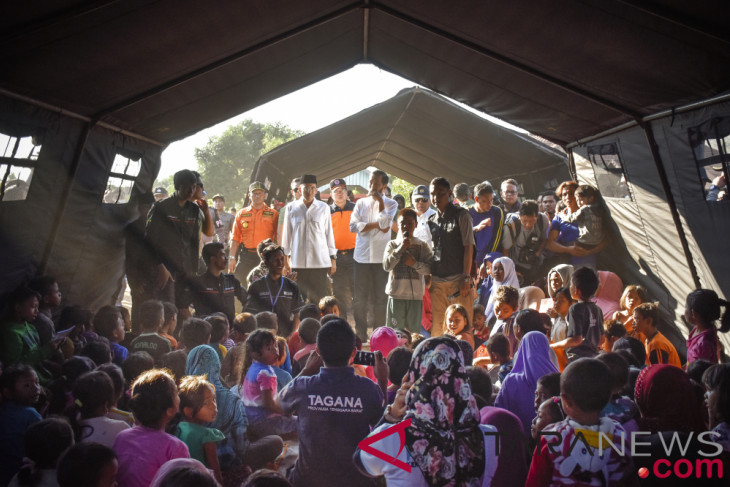 Rp50 million government allocation set to repair Lombok`s quake-affected houses