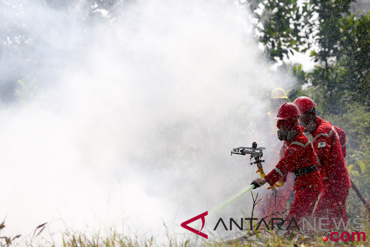 Indonesia fights forest fires in Sumatra ahead of Asian Games