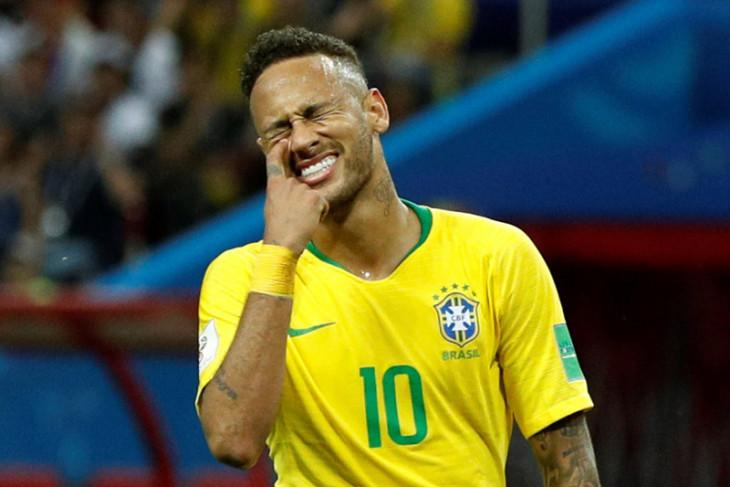 Neymar dipanggil masuk skuat laga persahabatan  Brasil