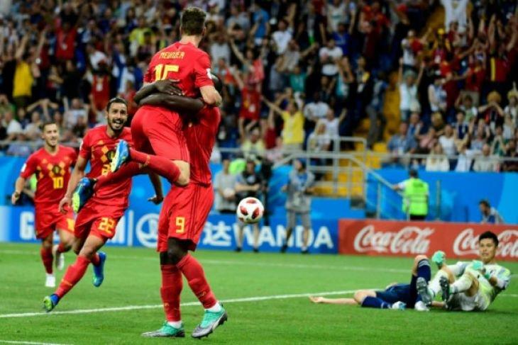 Belgia menang 3-2 atas Jepang
