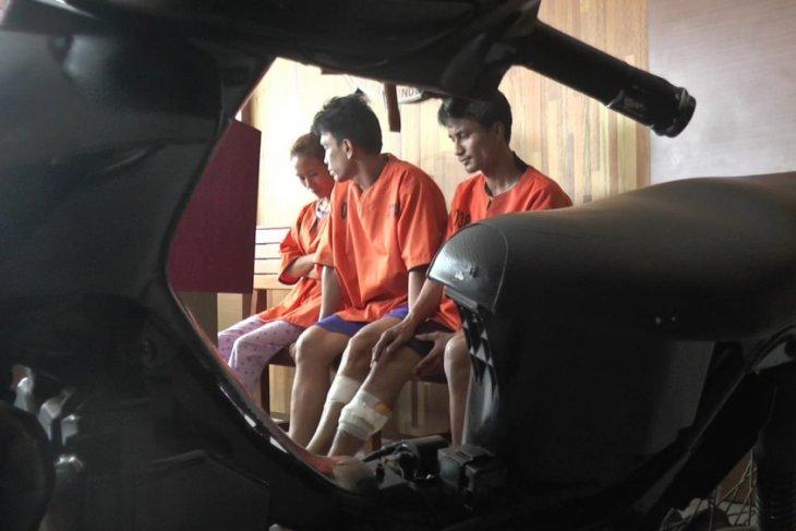 Polresta Pontianak ringkus tiga tersangka curat