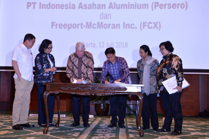 Freeport Indonesia`s divestment process begins