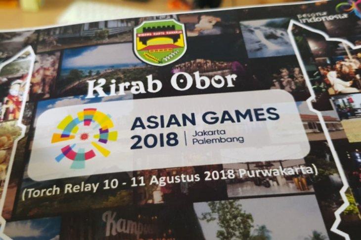 Air mancur Purwakarta sambut obor Asian Games