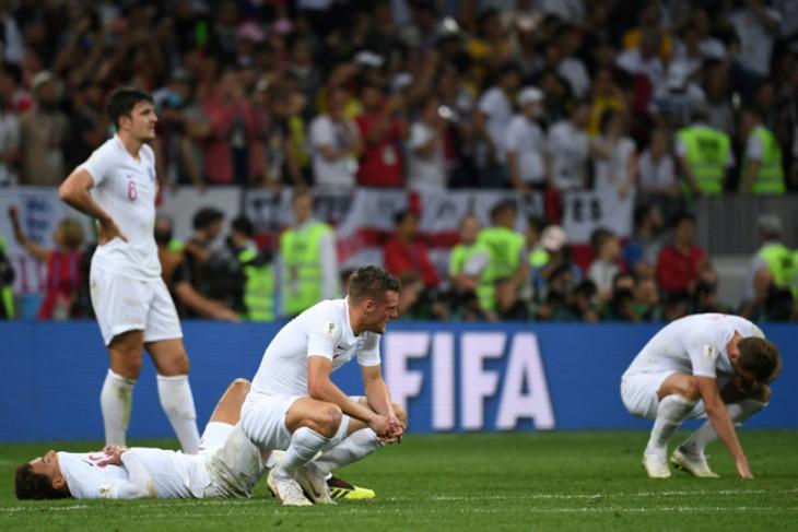Inggris bukan tim urutan empat terbaik di dunia