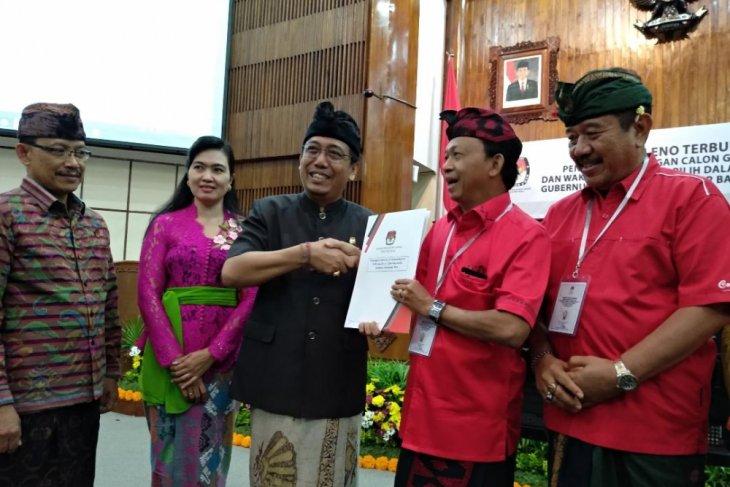 KPU Bali: Koster jadi Calon Gubernur Terpilih