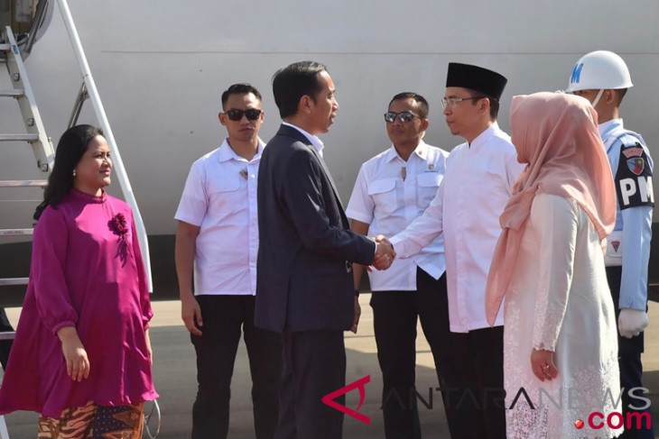 President inspects Lombok earthquake handling