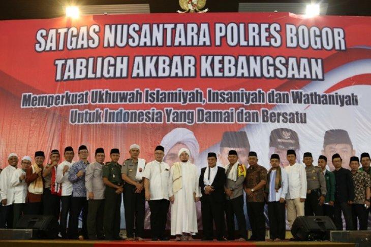 Polres Bogor dan IPB  gelar Tabligh Akbar untuk perdamaian