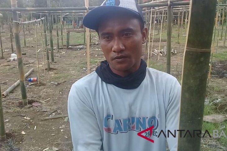 Warga Kesimpar Gunung Agung bertahan di pengungsian