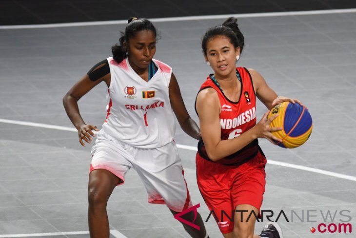 Asian Games (basket 3x3) -Iindonesia`s women`s team has chance to top group d