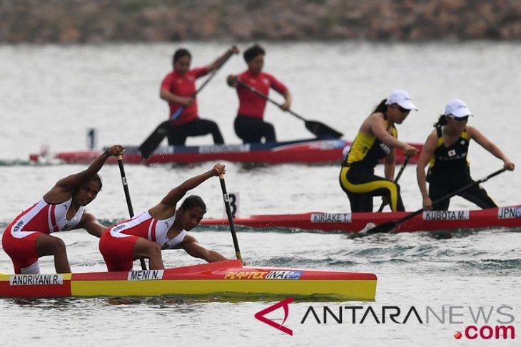 Asian Games (canoe/kayak sprint) - Indonesian women`s team wins bronze medal