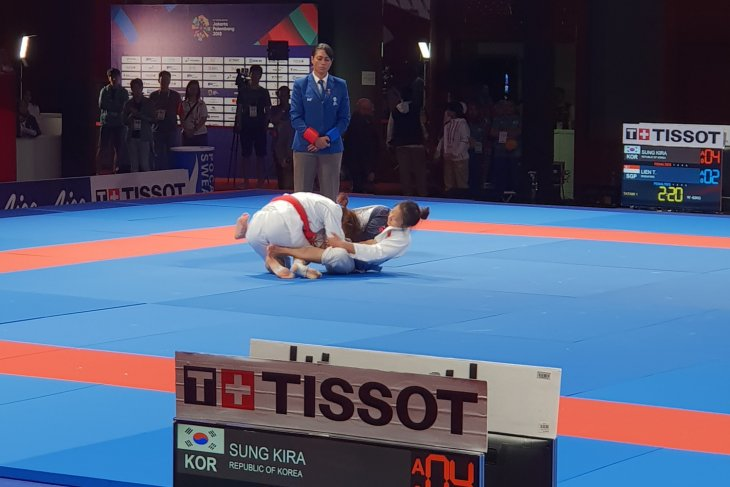 Asian Games (jujitsu) - S Korea claims gold in women`s 62 kg division