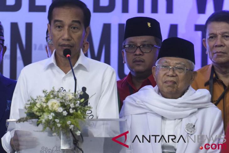 Jokowi-Ma`ruf team targets 60 percent of votes in Bengkulu