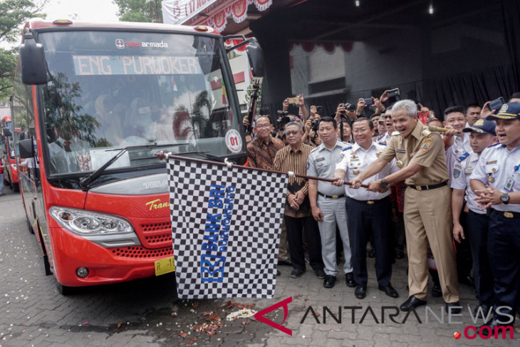 Central Java committed to developing gas-fueled mass transportation system