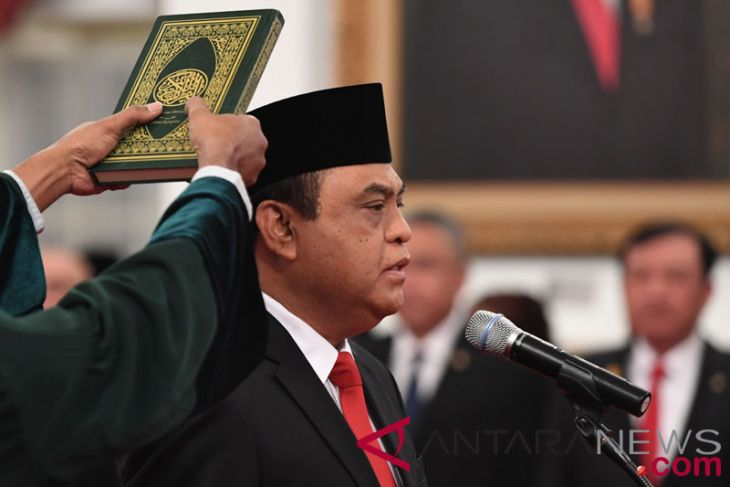 President consents to Syafruddin completing his Asian Games-related duties