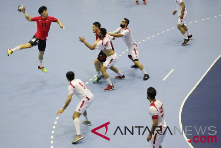 Asian Games - (handball) - Bahrain men`s team beats S Korea
