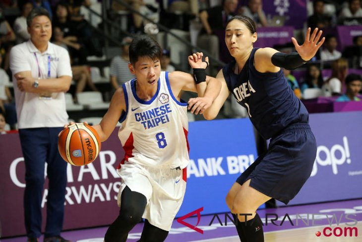 Asian Games (basketball) - Chinese Taipei defeats Korea 87-85