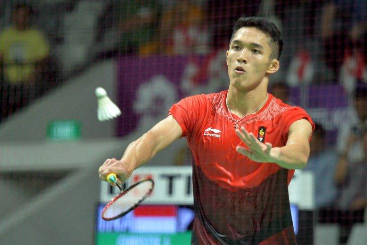 Asian Games (badminton) - Jonatan Christie to take on Chou Tien Chen in finals