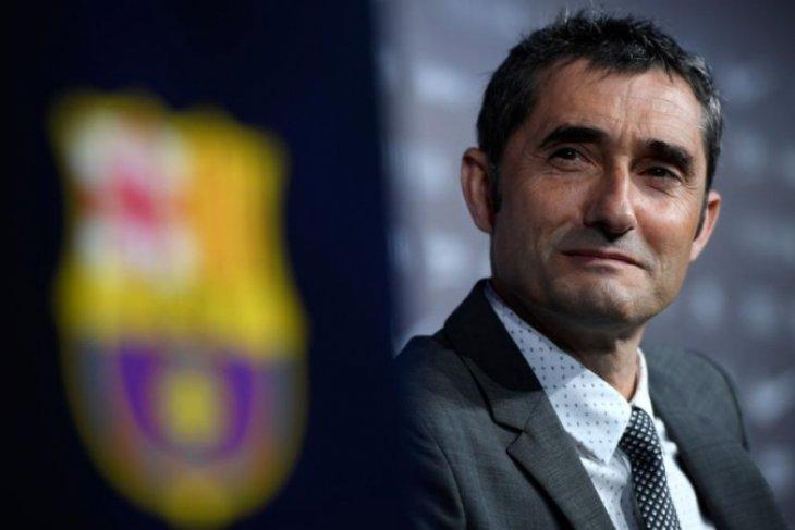 Pelatih Barcelona Valverde tidak prioritaskan Liga Champions