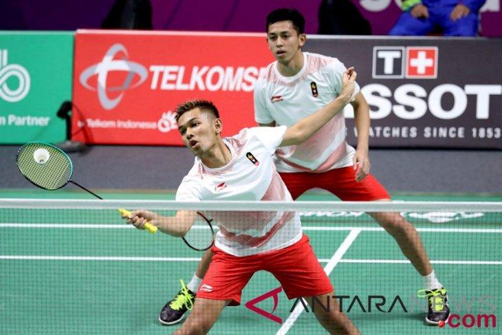 Tundukkan Malaysia, Fajar/Rian ke semifinal bulutangkis