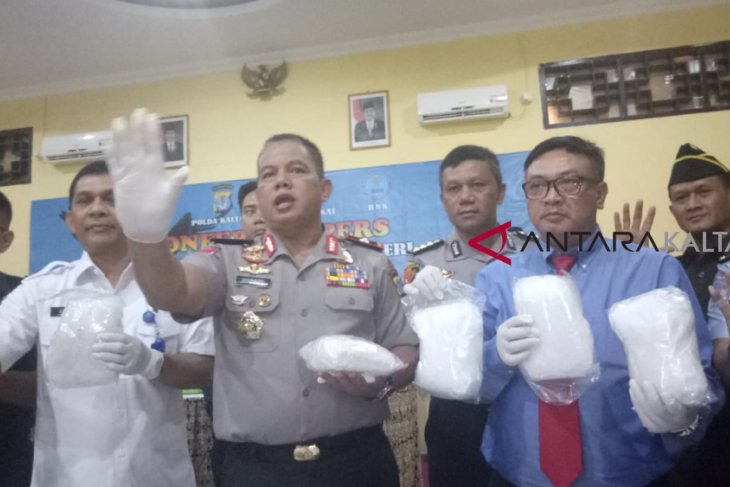 Attempt to smuggle 38kg of crystal meth foiled