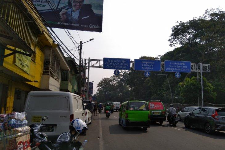 Bogor belum mulai uji coba parkir meter