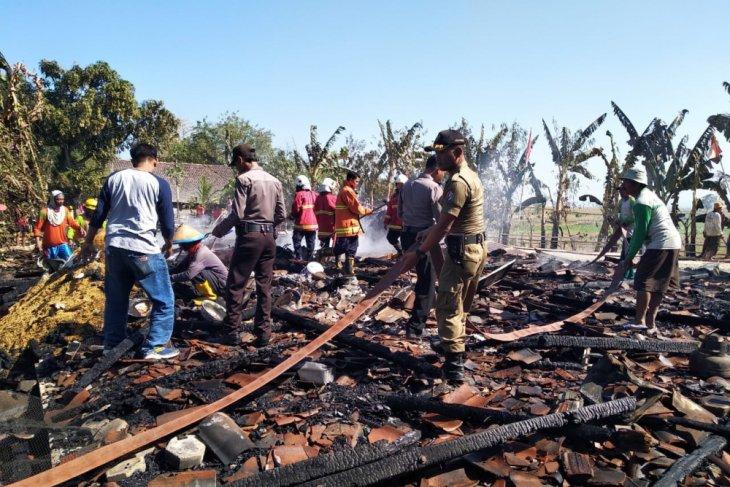 Kerugian Kebakaran di Bojonegoro Rp3,9 Miliar