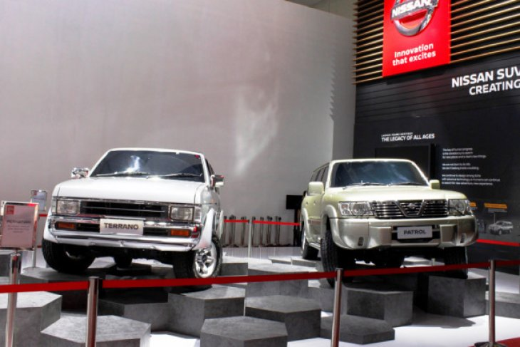 Nissan Patrol cikal bakal Terra ikut nangkring di GIIAS