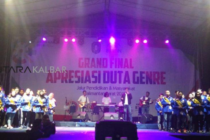 Empat finalis jadi Duta Genre Kalimantan Barat 2018