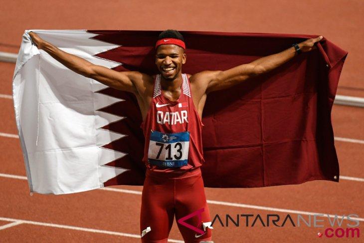 Asian Games (athletics) -Qatari sprinter breaks Asian Games record in men`s 400m hurdles