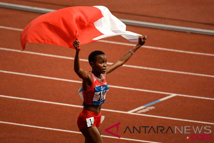 Asian Games (athletics) - Bahrain takes home gold in 4x400-meters relay