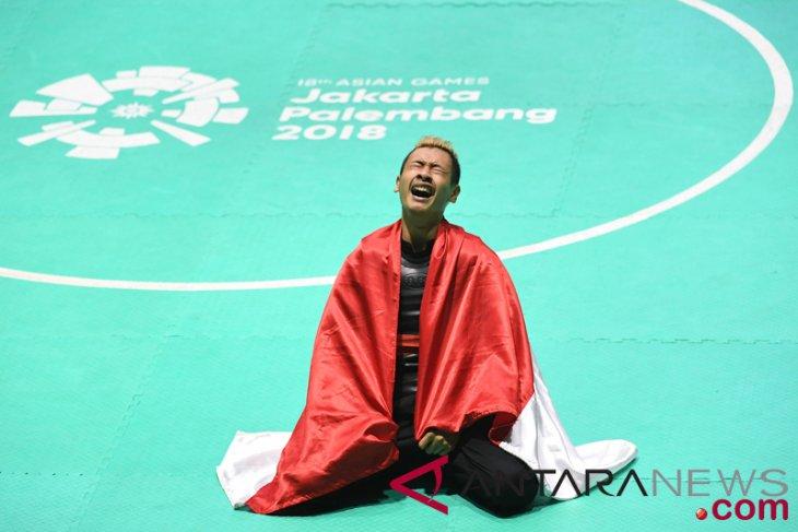 Asian Games (pencak silat) - Hanifan wins 13th gold medal