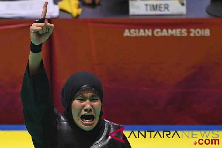 Asian Games (pencak silat) - Indonesia`s Kamelia bags gold