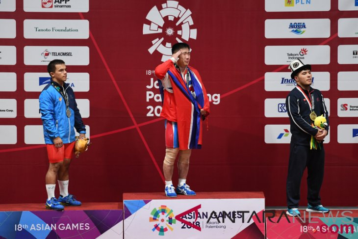 Asian Games (weightlifting) - North Korea takes home gold, silver medals